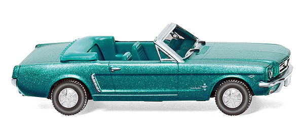 020547 - Wiking 1964 Ford Mustang Cabrio Convertible