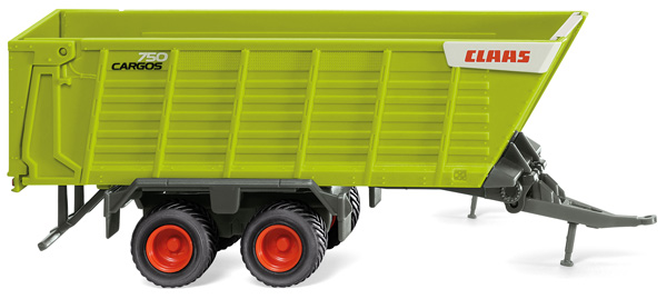038199 - Wiking Claas Cargos Forage Trailer High Quality