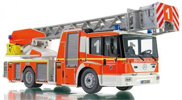 043102 - Wiking Fire Service Mercedes Benz Econic Aerial
