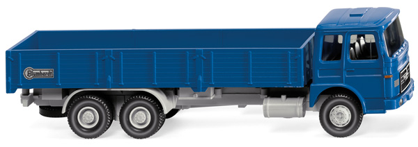 043305 - Wiking Blumhardt MAN High Sided Flatbed Truck