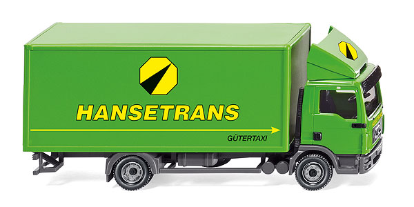 043506 - Wiking Hansetrans MAN TGL Box Truck