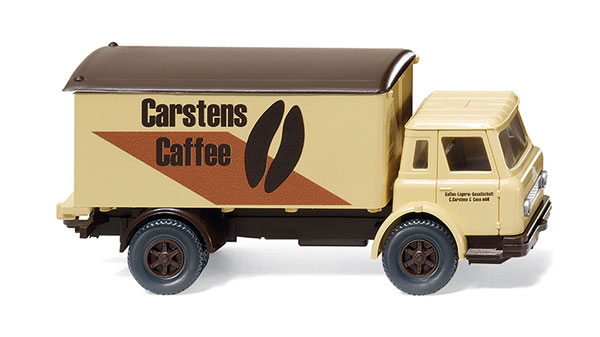 044602 - Wiking Carstens Caffee International Box Truck