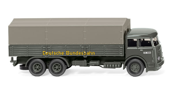 047902 - Wiking DB Bussing 12000 Flatbed Truck