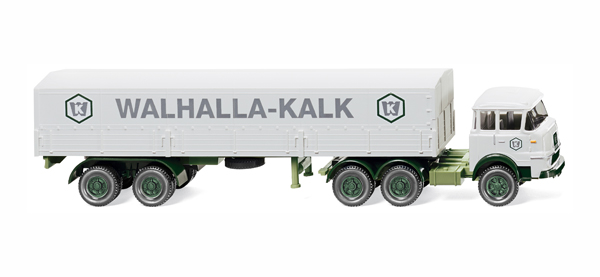 048801 - Wiking Walhalla Kalk Krupp 806 and Flatbed