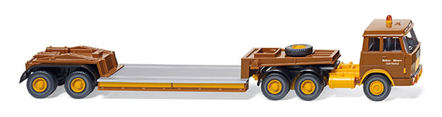 050303 - Wiking Hanomag Henschel Low loader Truck
