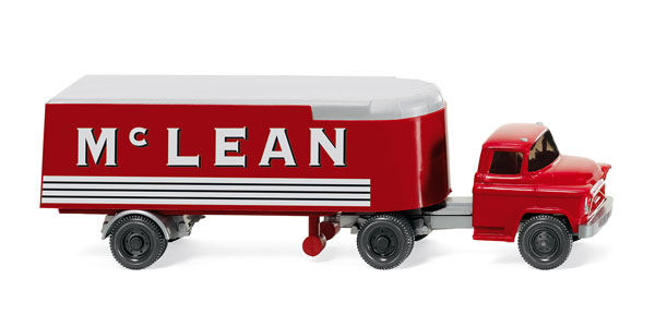 052101 - Wiking Model Mc Lean 1955 Chevrolet Day Cab and