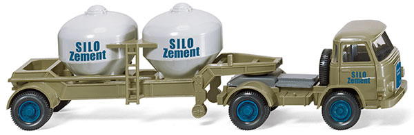 053001 - Wiking Silo Zement MAN Pausbacke Cement Tractor