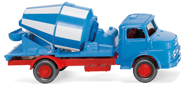 053202 - Wiking Mercedes Benz Short Nose Concrete Mixer