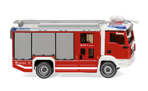 061248 - Wiking Fire Service MAN TGM Rosenbauer AT