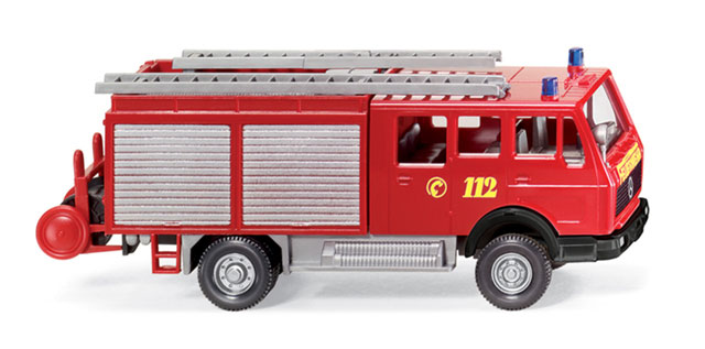 061601 - Wiking Model Mercedes Benz LF 16 Fire Service Vehicle