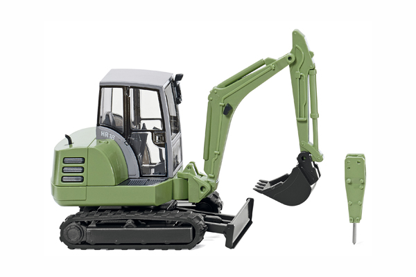 065805 - Wiking Model Terex HR 18 Mini Excavator