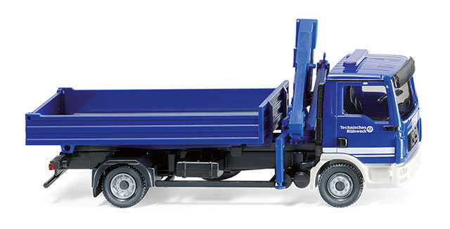 069319 - Wiking MAN TGL Flatbed Truck