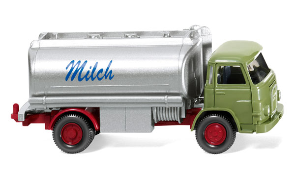 080748 - Wiking 1960 MAN 415 Milk Float Tank