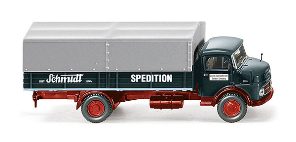 085202 - Wiking Schmidt Spedition Mercedes Benz L1113 Delivery