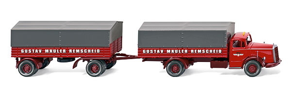 085905 - Wiking Spedition Gustav Mercedes Benz L6600
