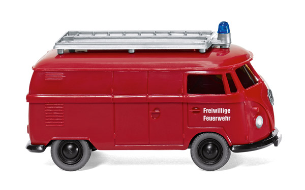 086141 - Wiking Fire Brigade Volkswagen T1 Van High