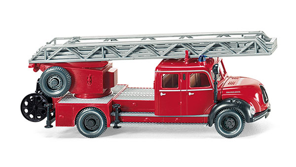 086234 - Wiking Fire Service Magirus DL 25h Aerial
