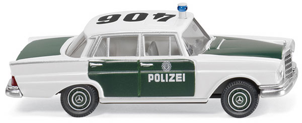 086426 - Wiking Police Mercedes Benz 220
