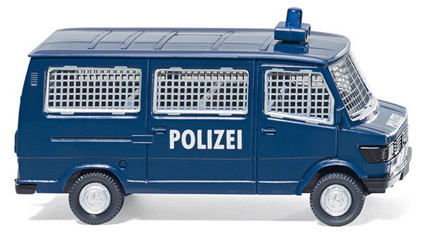 086431 - Wiking Police Mercedes Benz 207