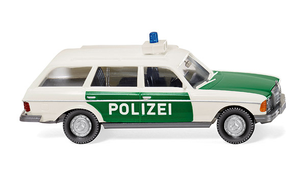 086441 - Wiking Police 1978 Mercedes Benz 250