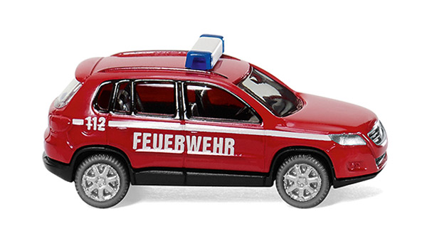 092004 - Wiking Model Fire Brigade Volkswagen Tiguan High Quality