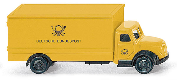 094902 - Wiking Deutsche Bundespost Magirus Box Truck