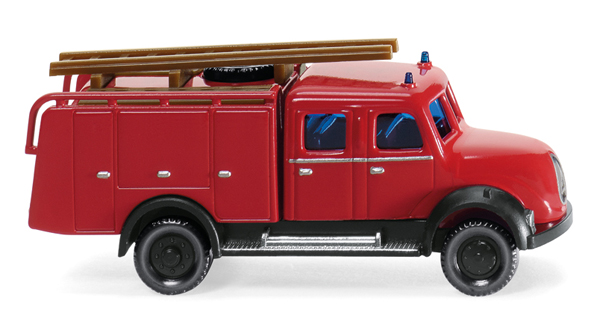 096139 - Wiking Model Fire Brigade 1955 Magirus TLF 16 Fire