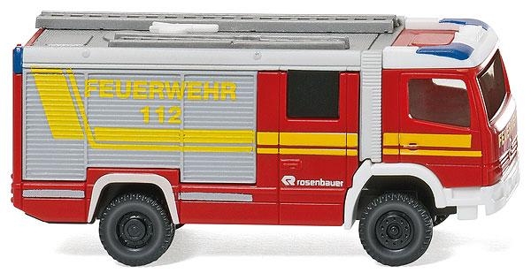 096303 - Wiking Rosenbauer RLFA 2000 AT Fire Truck