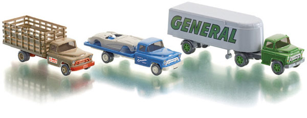 099070 - Wiking Classic Chevrolet Trucks 3 Piece Set