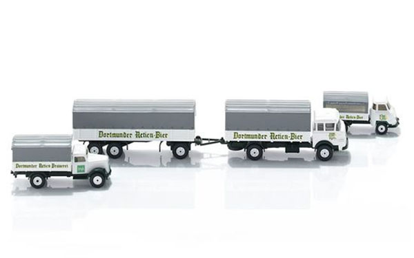 099074 - Wiking DAB Brewery Trucks SET Opel Blitz