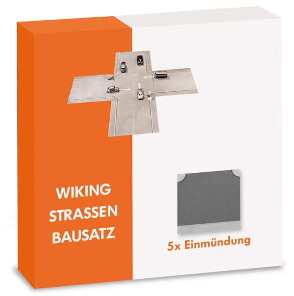 119904 - Wiking Road Building Set Junction 5 Pieces