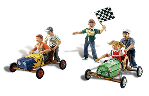 A1952 - Woodland Scenics Scenic Accents Downhill Derby HO Scale