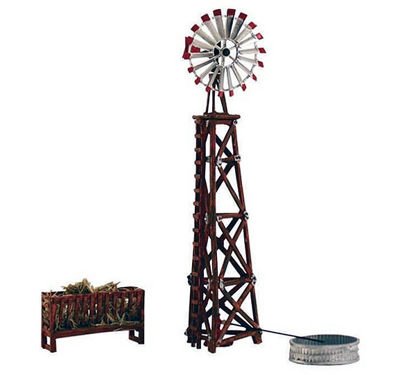 BR4937 - Woodland Scenics Windmill N Scale Built and Ready