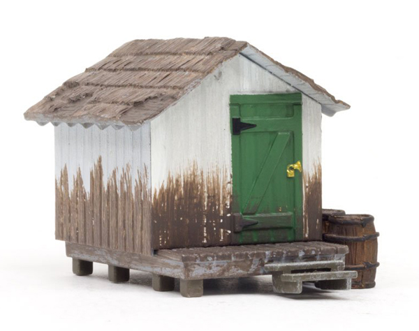 BR5058 - Woodland Scenics Wood Shack HO Scale Built and