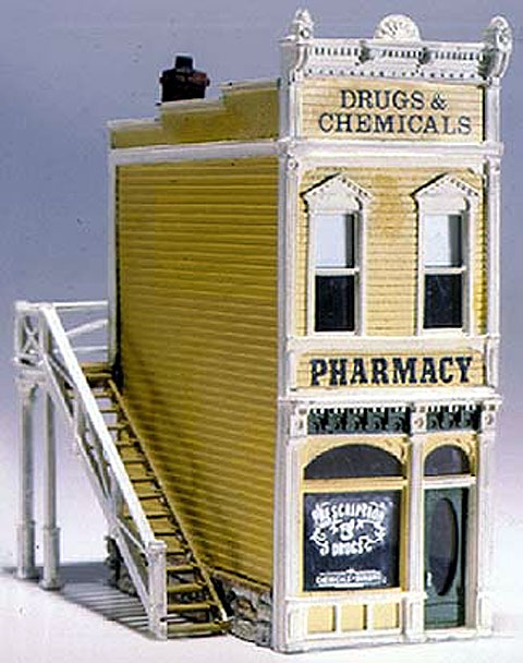 D221 - Woodland Scenics Scenic Details Pharmacy HO Scale Lead