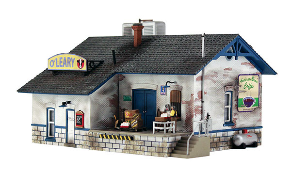 PF5205 - Woodland Scenics OLeary Dairy Distribution N Scale Kit