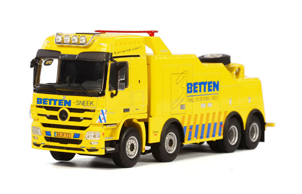 01-1664 - WSI Model Betten Sneek Mercedes Benz Actros MP3