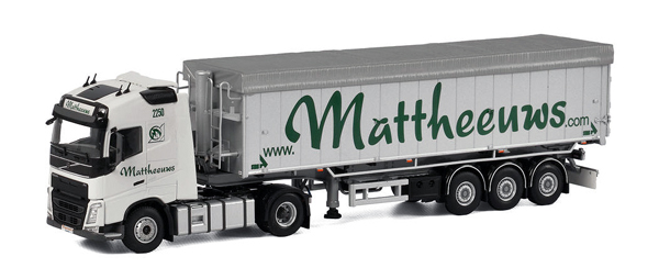 01-1910 - WSI Model Mattheeuws Transport Volvo FH4 GL Tractor