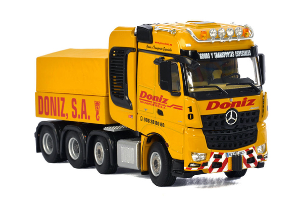 01-2008 - WSI Doniz Mercedes Benz Actros MP4 Giga