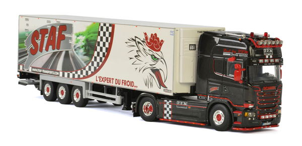 01-2192 - WSI Model Staf Scania Streamline Topline Tractor