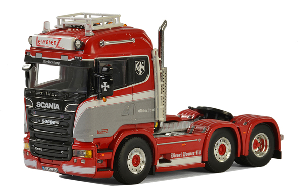 01-2253 - WSI Model Lewerenz Scania Streamline Highline Tractor Cab Only