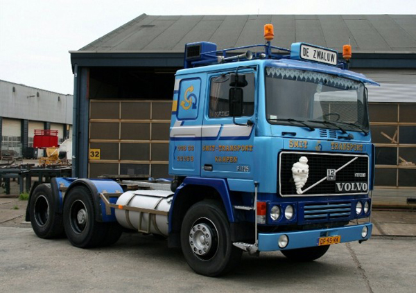 01-2318 - WSI Smit Transport Volvo F12 Cab Only