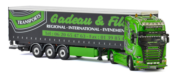 01-2330 - WSI Model Gadeau Fils Scania Streamline Topline