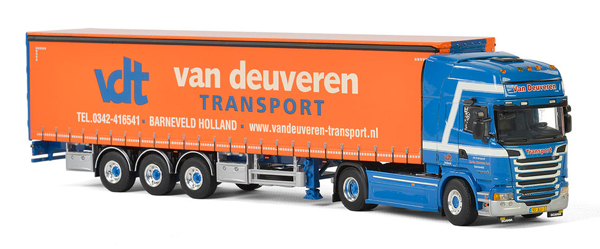 01-2364 - WSI Model Van Deuveren Transport Scania Streamline Topline