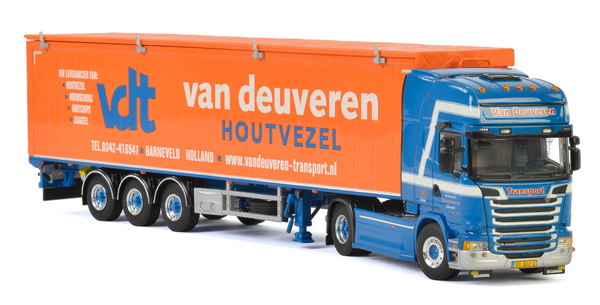 01-2365 - WSI Model Van Deuveren Scania Streamline Topline Tractor
