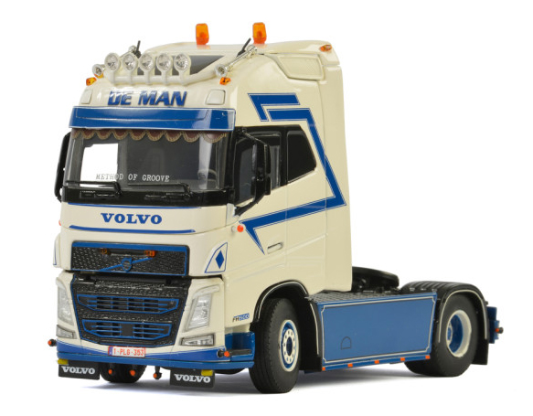 01-2385 - WSI Model De Man Transport Volvo FH4 Globetrotter