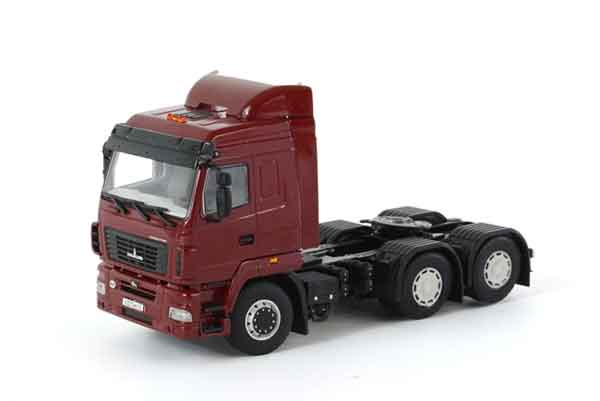 04-1133 - WSI MAZ 6430 6x4 Red Cab Only