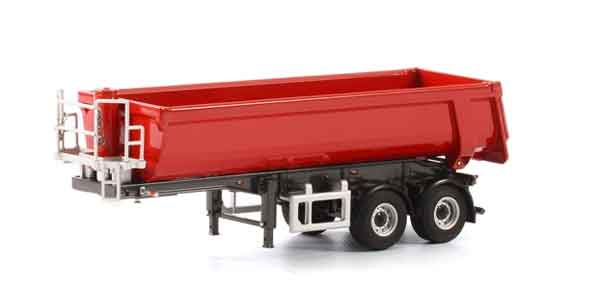 04-1154 - WSI Model 2 Axle Half Pipe Dump Trailer