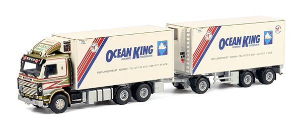 06-1098 - WSI Model Visnes Ocean King Scania 113_143 Combi Truck