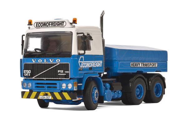 06-1134 - WSI Model Econofreight Volvo F12 6x2 Tractor